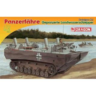 Model Kit military 7489 - PANZERFÄHRE GEPANZERTE LANDWASSERSCHLEPPER PROTOTYPE Nr.1 (1:72)