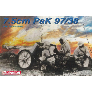 Model Kit military 6123 - 7.5cm PaK 97/38 (1:35)