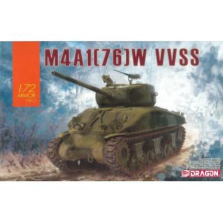 Model Kit tank 7571 - M4A1(76)W VVSS (1:72)