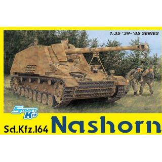 Model Kit tank 6459 - Sd.Kfz.164 Nashorn (4 in 1) (SMART KIT) (1:35)
