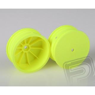 Přední disky žluté pro 4WD (HEX 10 mm) - 2 ks