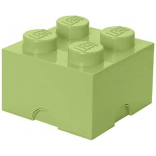 LEGO úložný box 250x250x180mm - jarní zelená