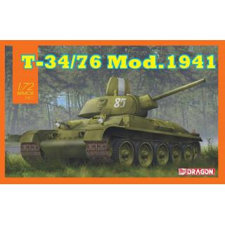 Model Kit tank 7590 - T-34/76 Mod.1941 (1:72)