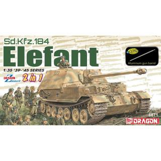 Model Kit tank 6871 - Sd.Kfz.184 Elefant (2 in 1) (1:35)