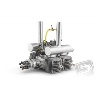 Motor DLA 128ccm (čtyřválec, boxer) včetně tlumiče a příslušenství