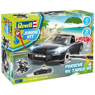 Junior Kit auto 00822 - Porsche 911  Targa 4S (světelné a zvukové efekty) (1:20)