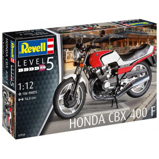 Plastic ModelKit motorka 07939 - Honda CBX 400 F (1:12)