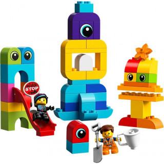 LEGO DUPLO - Emmet, Lucy a návštěvníci z DUPLO planety
