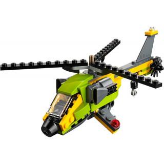LEGO Creator - Dobrodružství s helikoptérou