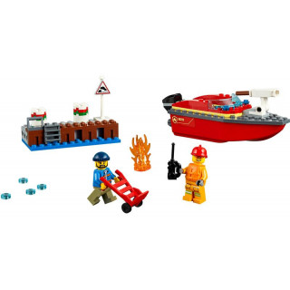 LEGO City - Požár v přístavu