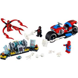 LEGO Super Heroes - Spider-Man a záchrana na motorce