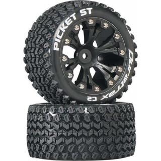 """Duratrax kolo 2.8"""" Picket ST 2WD zadní C2 černá (2)"""