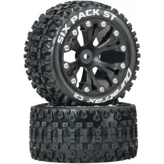 """Duratrax kolo 2.8"""" Six Pack ST 2WD zadní C2 černá (2)"""