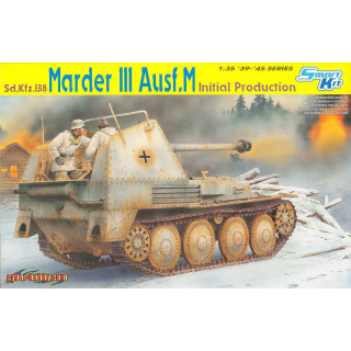 Model Kit military 6464 - Sd.Kfz.138 MARDER III Ausf.M INITIAL PRODUCTION (SMART KIT) (1:35)