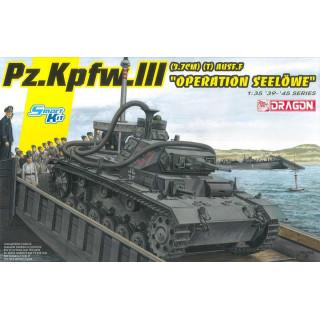 "Model Kit tank 6877 - Pz.Kpfw.III (3.7cm) (T) Ausf.F ""OPERATION SEELÖWE"" (1:35)"