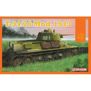 Model Kit tank 7596 - T-34/76 Mod.1943 (1:72)
