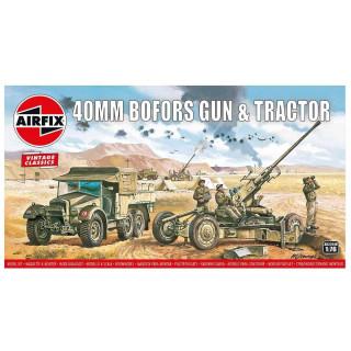 Classic Kit VINTAGE military A02314V - Bofors 40mm Gun & Tractor (1:76)