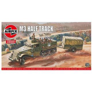 Classic Kit VINTAGE military A02318V - M3 Half Track & 1 Ton Trailer (1:76)