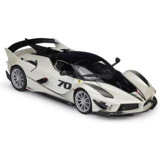 Bburago Ferrari FXX-K EVO No.70 1:18 bílá/černá