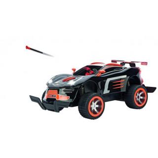 R/C auto Carrera Agent Black (1:16) 2.4GHz kulomet