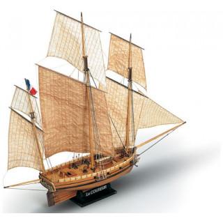 MAMOLI Le Coureur 1776 1:54 kit