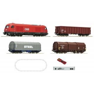 Digitální Z21 startovací sada: Diesel lokomotiva řady 2016 a nákladní vlak, ÖBB