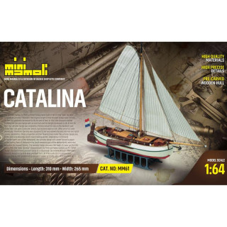 MINI MAMOLI Catalina 1:64 kit