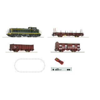 Digitální z21® start Sada: Dieselová lokomotiva BB63000 a nákladní vozy, SNCF