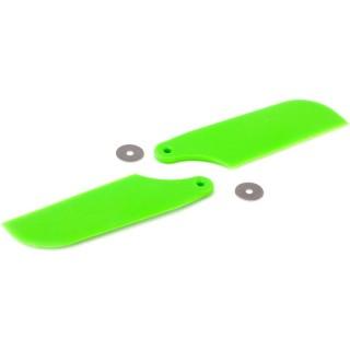 Blade 450/X: Listy ocasního rotoru zelené