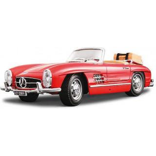Bburago Mercedes-Benz 300 SL Touring 1957 1:18 červená