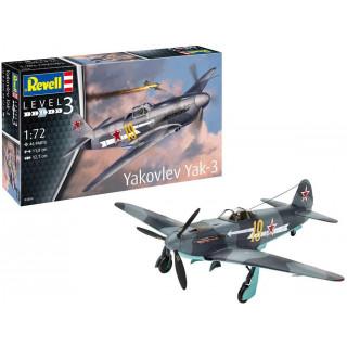 ModelSet letadlo 63894 - Yakovlev Yak-3 (1:72)