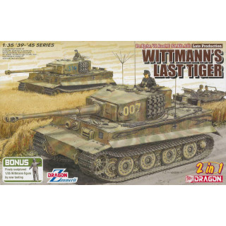 Model Kit tank 6800 - WHITMANN'S LAST TIGER (1:35)