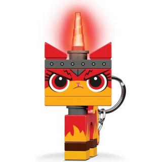"""LEGO svítící klíčenka - LEGO Movie 2 """"Angry"""" Kitty"""
