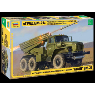 Model Kit military 3655 - BM-21 Grad Rocket Launcher (1:35)
