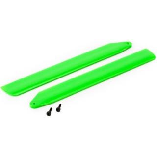 Blade 130 X: Rotorové listy Hi-Perf. zelené