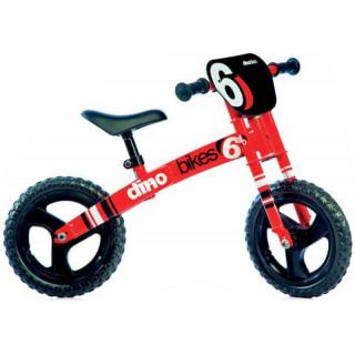 DINO Bikes - Dětské odrážedlo červené