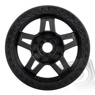 "Tech 5 3.8"" (40 Series) černé disky (2.75"") Zero Offset 17mm (2ks.)"