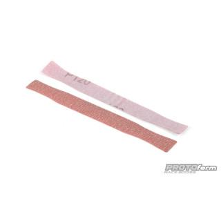 Náhradní brusný papír pro brusný blok na začištění lexanových karoserií
