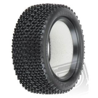 """Caliber 2.2"""" 4WD M3 (Soft směs) Off-Road Buggy přední gumy"""