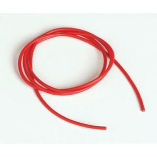 Silikonový kabel 1,0qmm, 17AWG, 1metr, červený
