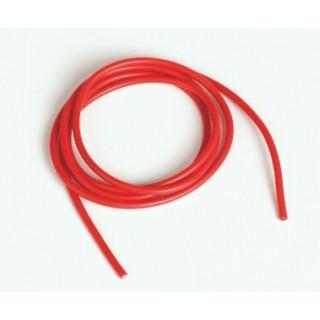 Silikonový kabel 1,6qmm, 15AWG, 1metr, červený