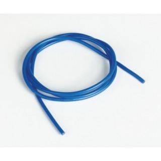 Silikonový kabel 2,0qmm, 14AWG, 1metr, modrý