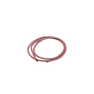Silikonový kabel 4,1qmm, 11AWG, 1metr, červený