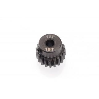 48DP ocelový pastorek, 1 ks. (19 zubů)