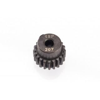 48DP ocelový pastorek, 1 ks. (20 zubů)