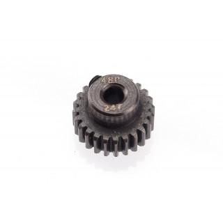 48DP ocelový pastorek, 1 ks. (24 zubů)