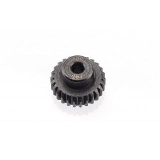 48DP ocelový pastorek, 1 ks. (26 zubů)