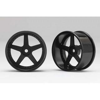 Racing Performer Driftovací disky 5 paprsků 01 (8mm Offset/Černé/2ks)