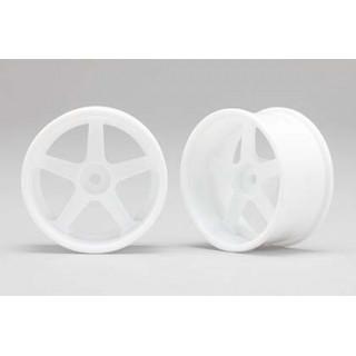 Racing Performer Driftovací disky 5 paprsků 01 (6mm Offset/Bílé/2ks)