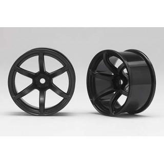 Racing Performer Driftovací disky 6 paprsků 02 (8mm Offset/Černé/2ks)